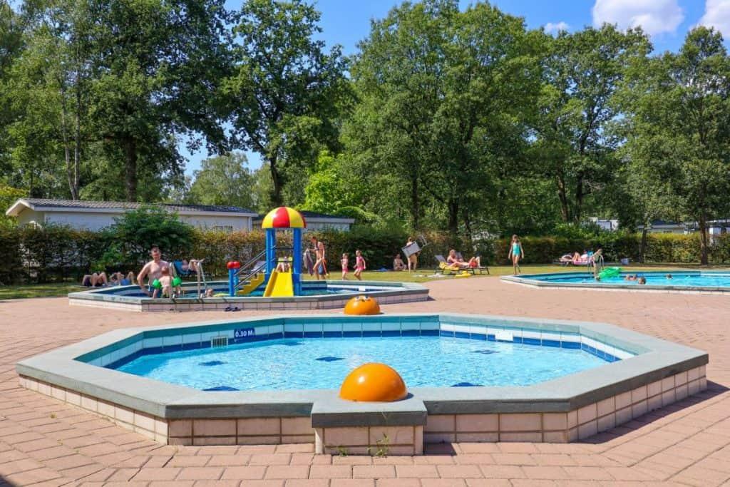 Zwembad van Droompark Hooge Veluwe