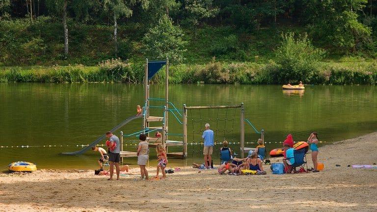 Zwemvijver van Droompark Maasduinen