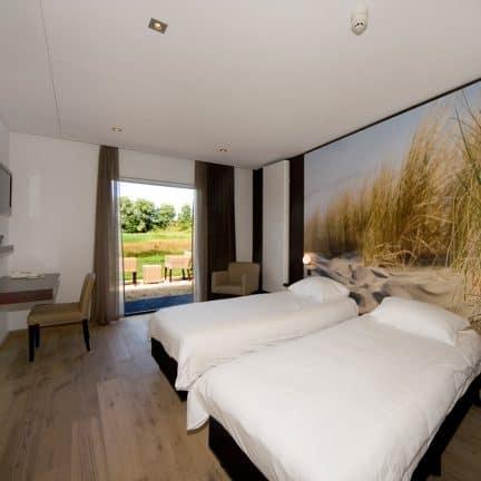 Hotelkamer van Fletcher Landgoed Hotel Renesse