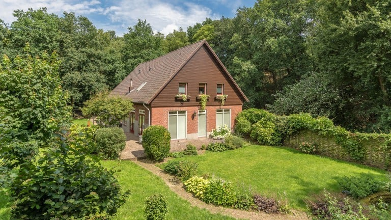 Bed en Breakfast Aan de Beek in Arcen, Limburg
