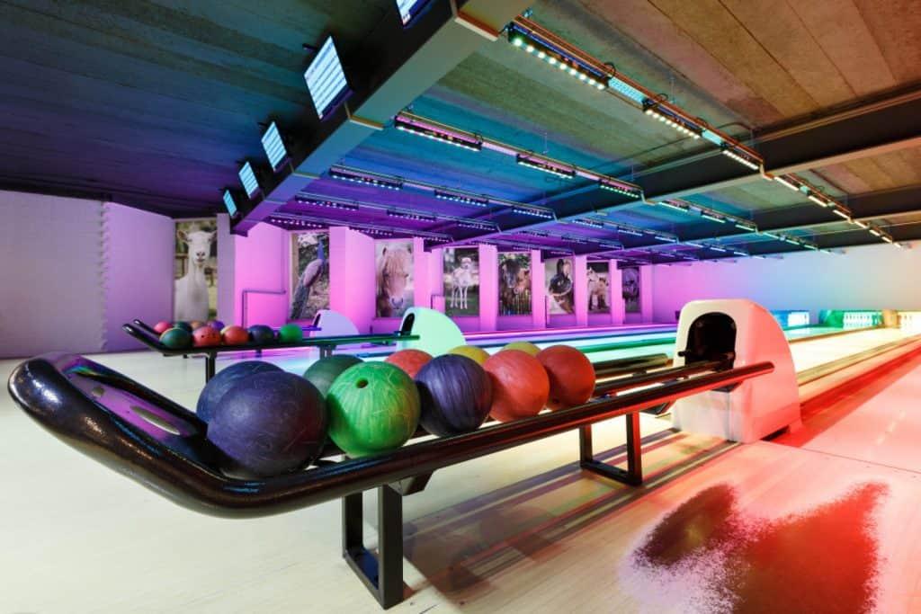 Bowlingbanen van Vakantiepark Dierenbos
