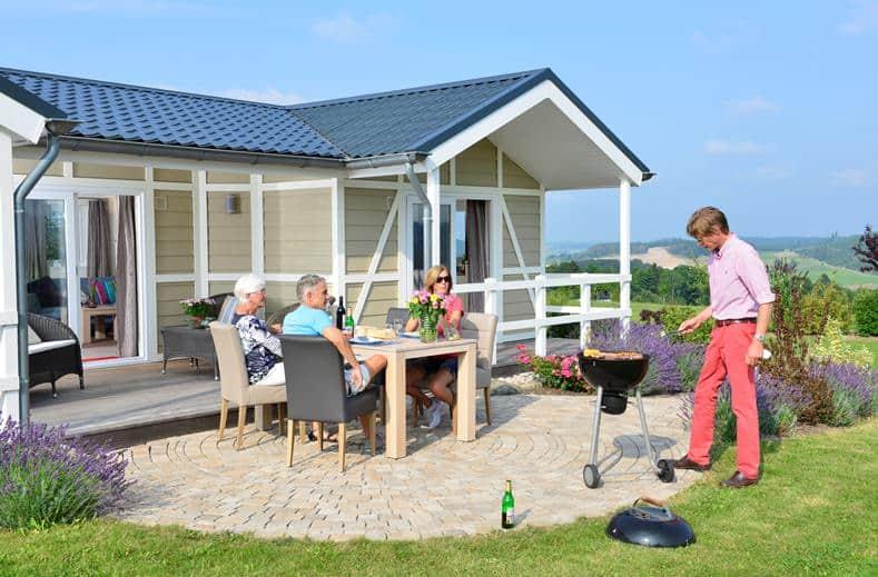 Chalet Limonet op camping Brilon