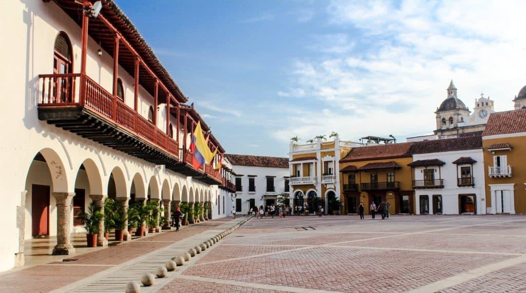 Historisch centrum van Cartagena