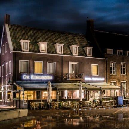 Hotel Restaurant De Eenhoorn in Oostburg, Zeeland