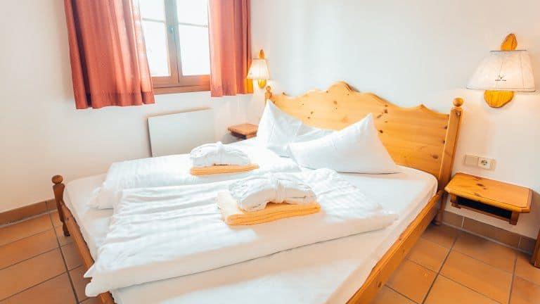 Hotelkamer van Almresort Gerlitzen Kanzelhöhe