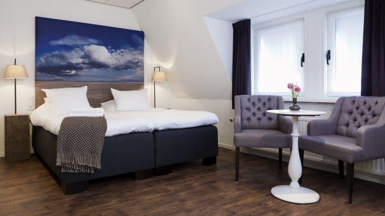 Hotelkamer van Boutique Hotel de Smulpot