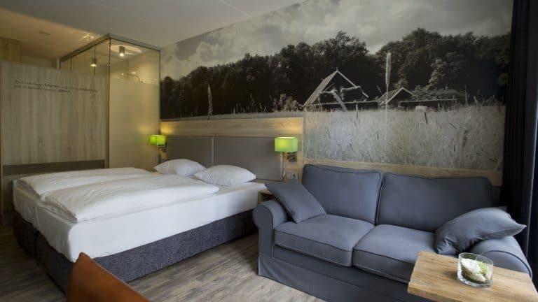 Hotelkamer van Erve Hulsbeek in Overijssel