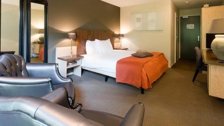 Hotelkamer van hotel Dennenheuvel