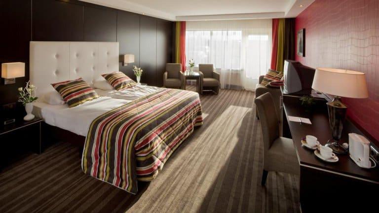 Hotelkamer van hotel van der Valk