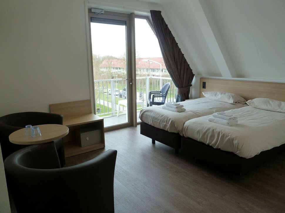 Hotelkamer van Hotel 't Zwaantje Callantsoog
