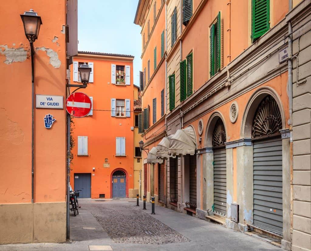 Joods getto van Bologna
