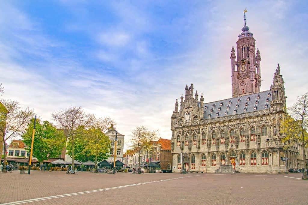 Middelburg, de hoofdstad van Zeeland