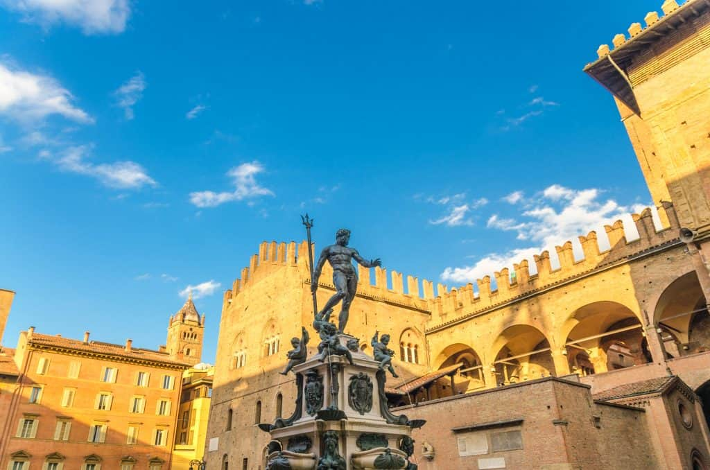 Neptunusfontein op het Piazza del Nettuno