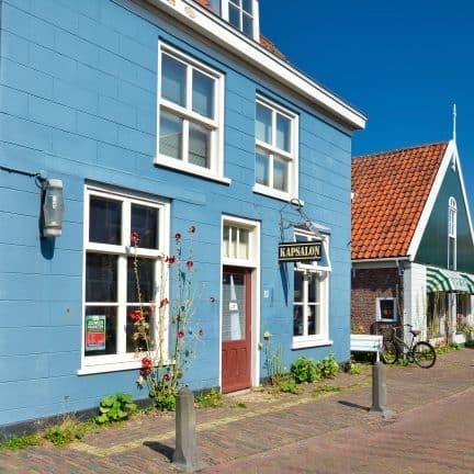Oude gebouwen in Den Burg, Texel