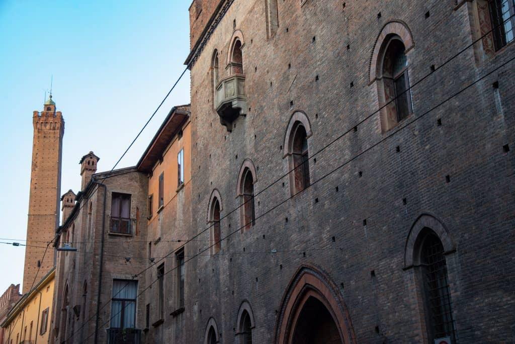 Palazzo Pepoli in Bologna, Italië