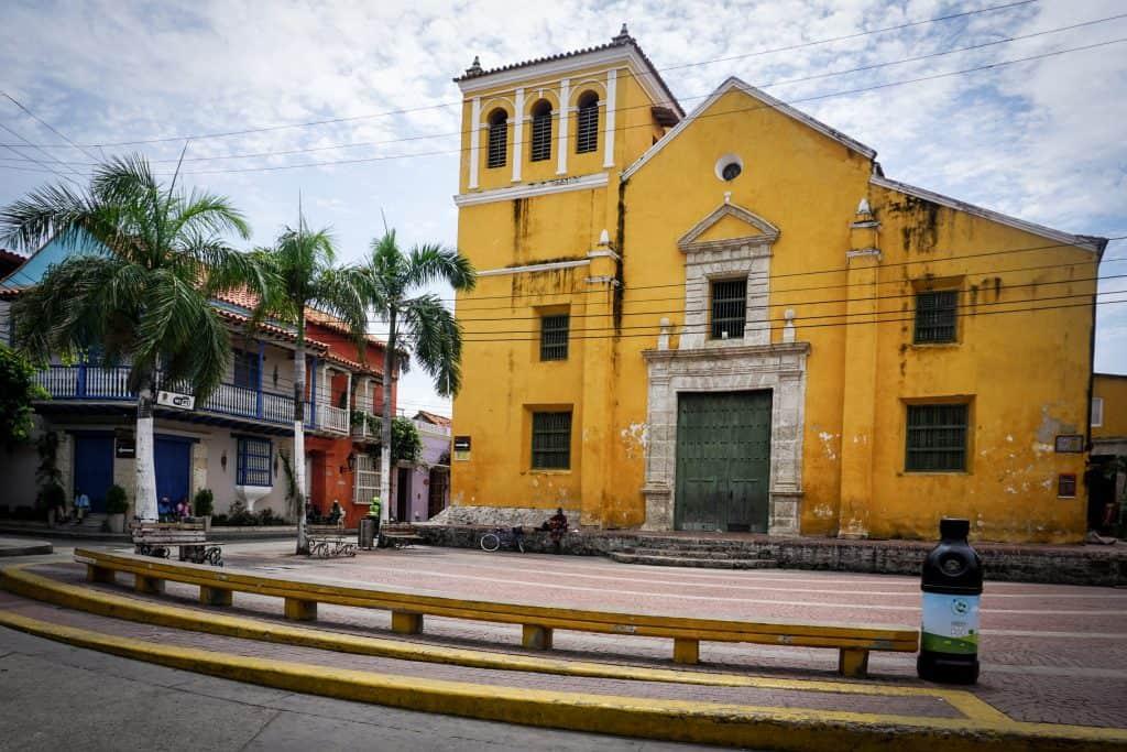 Plaza de la Trinidad in Getsemaní