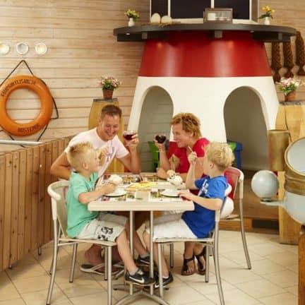 Restaurant van BestCamp Nieuwpoort