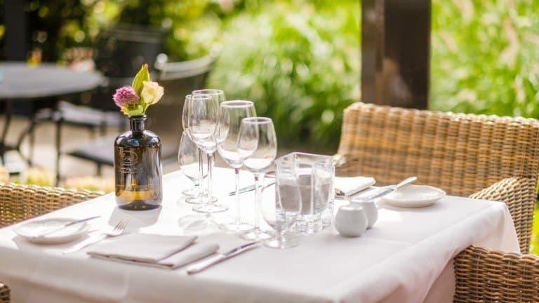 Restaurant van hotel Dennenheuvel