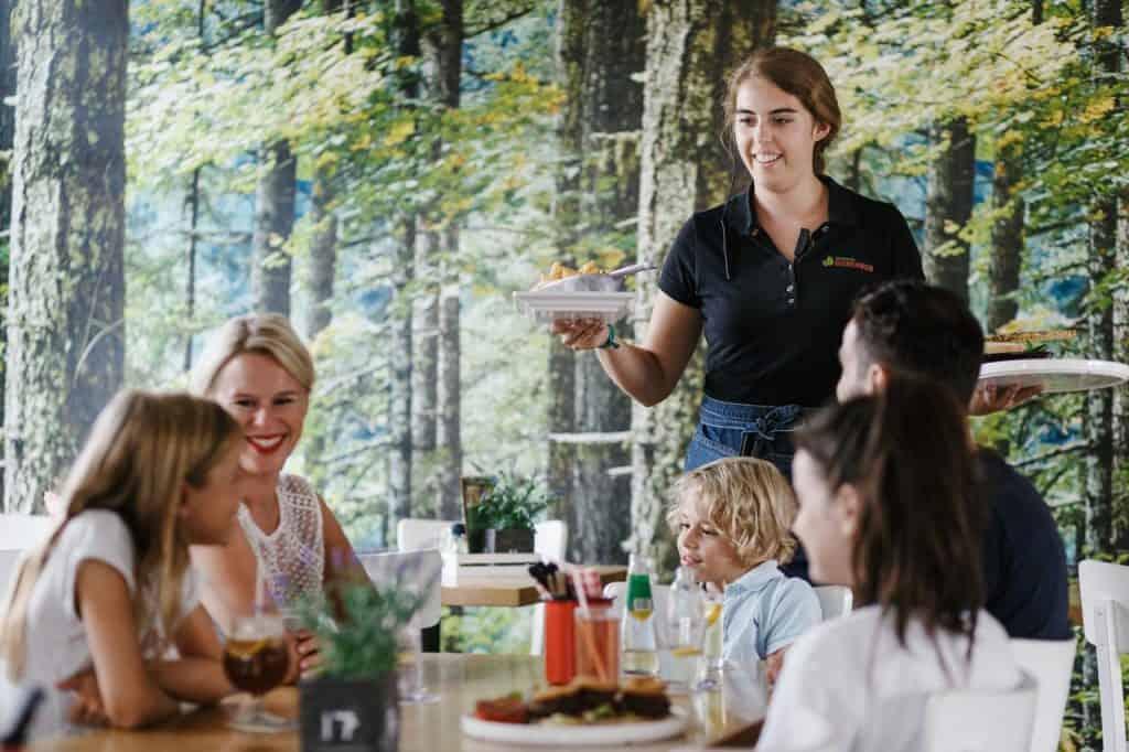 Restaurant van Vakantiepark Dierenbos