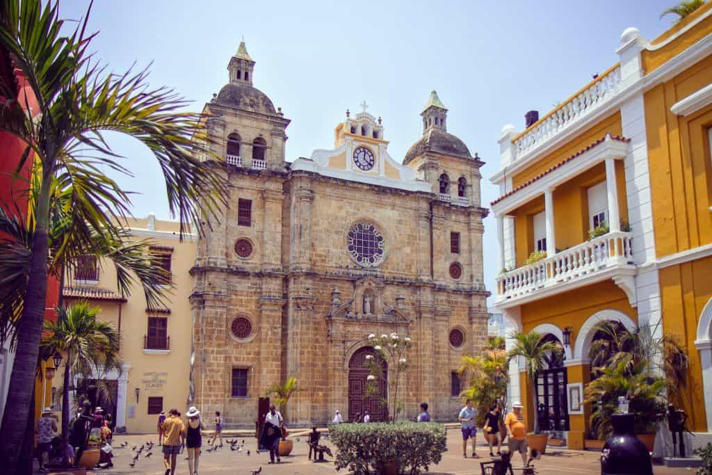San Pedro Claver kerk in Cartagena, Colombia