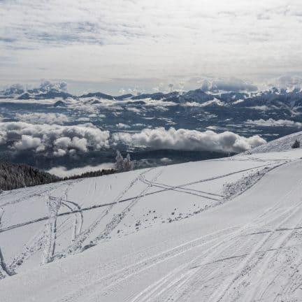 Skipiste van Gerlitzen Alpe