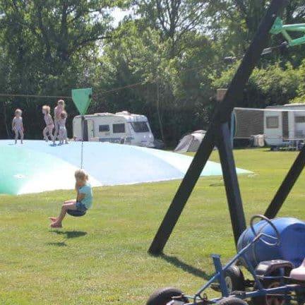 Speeltuin van Camping Dal van de Mosbeek