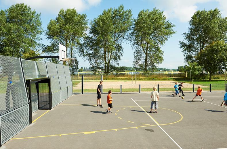 Sportplaats van BestCamp Nieuwpoort