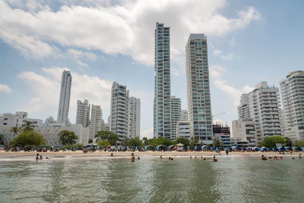 Strand van Bocagrande