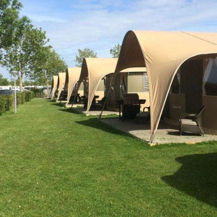 Tenten van Camping de Pekelinge