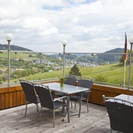 Uitzicht van Wald Hotel Willingen