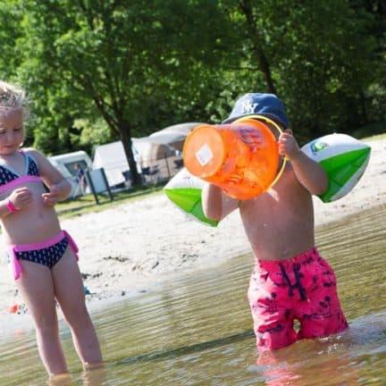 Waterplas van Camping 't Veld