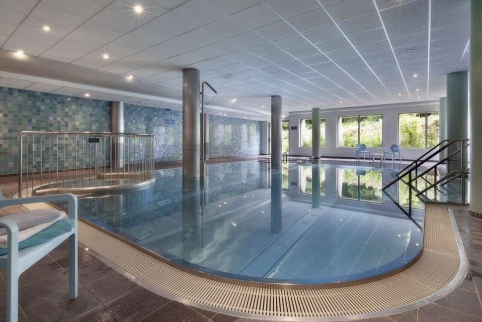Zwembad van Grand Hotel Opduin
