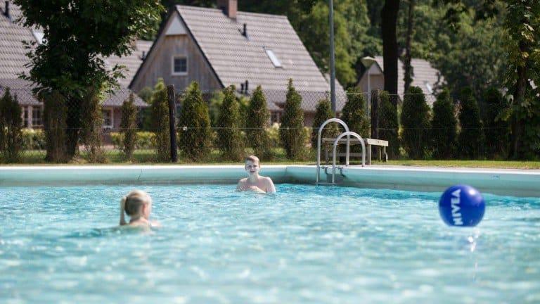 Zwembad van Hof van Salland