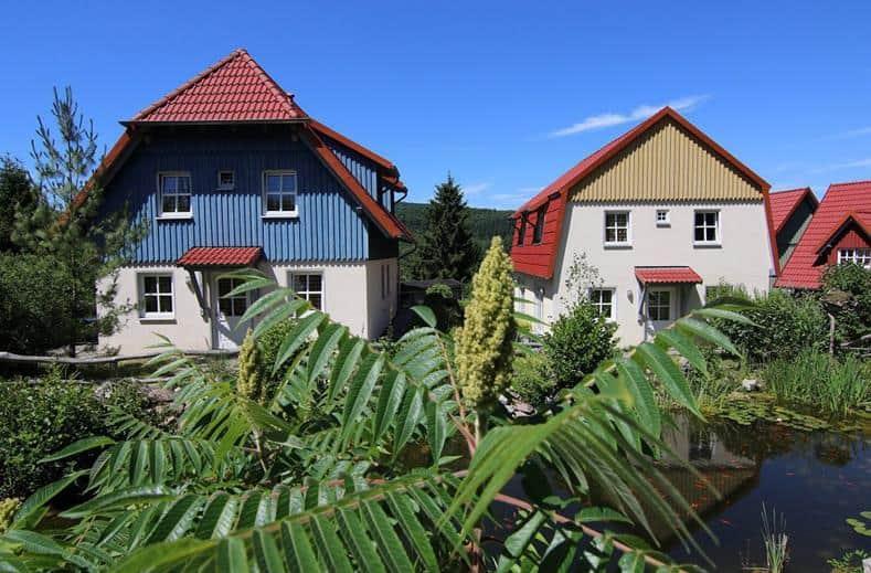 bungalow van vakantiepark Hasseröder in Duitsland