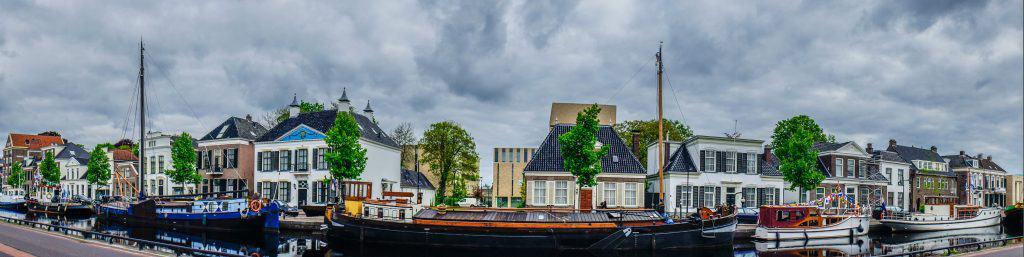 Centrum van Assen, hoofdstad van Drenthe