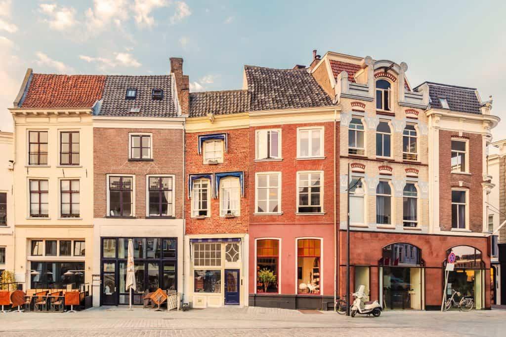 Centrum van Zutphen in Gelderland