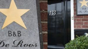 City Boutique B&B De Roos in Leeuwarden, Friesland
