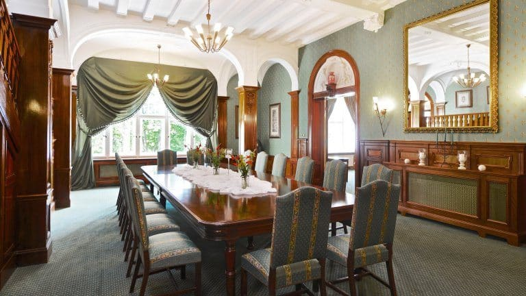 Dinerruimte van Ringhotel Villa Westerberge