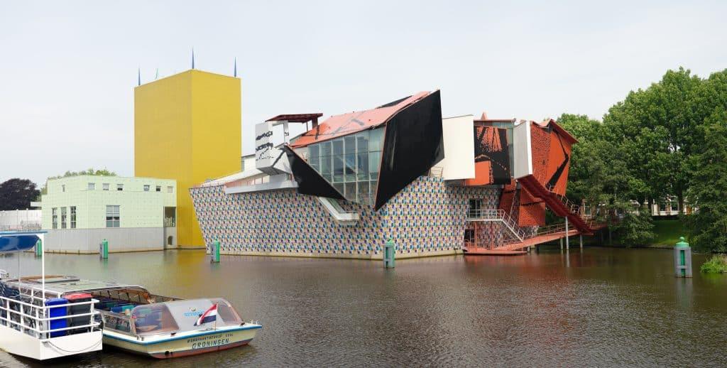 Groninger museum in Groningen