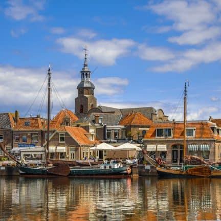 Haven van Blokzijl in de kop van Overijssel