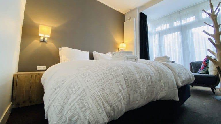 Hotelkamer van City Boutique B&B De Roos