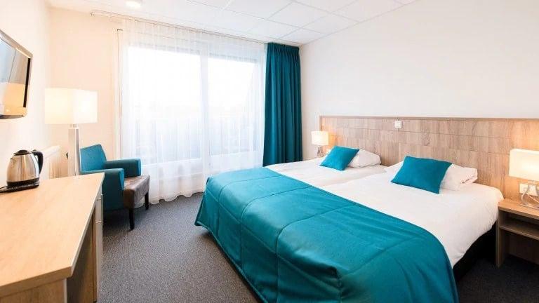 Hotelkamer van Hotel Nes