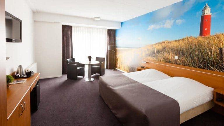 Hotelkamer van Hotel De Pelikaan