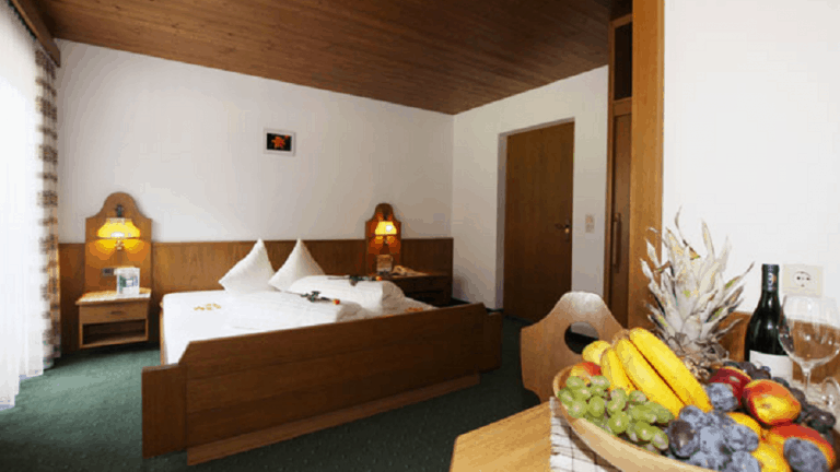Hotelkamer van Hotel Pension St. Leonhard