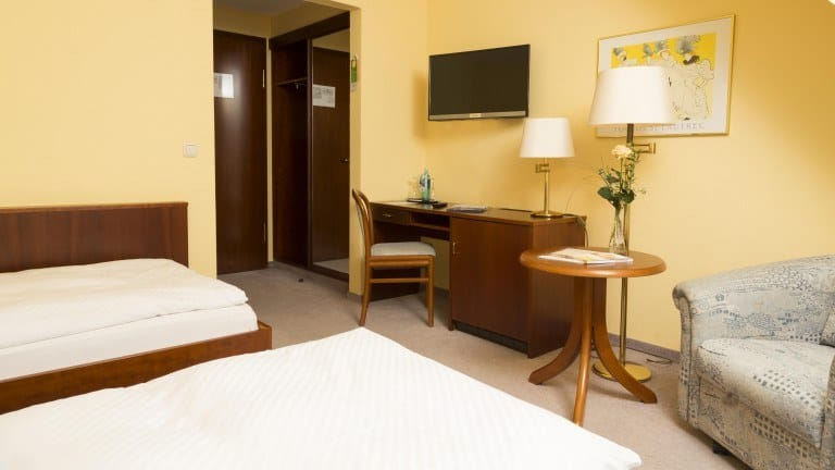 Hotelkamer van Ringhotel Residenz Wittmund