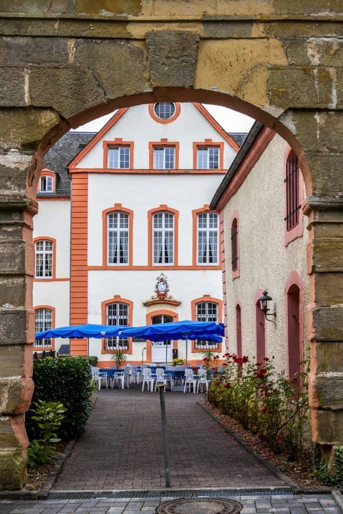 Kasteel Bollendorf in Bollendorf, Duitsland