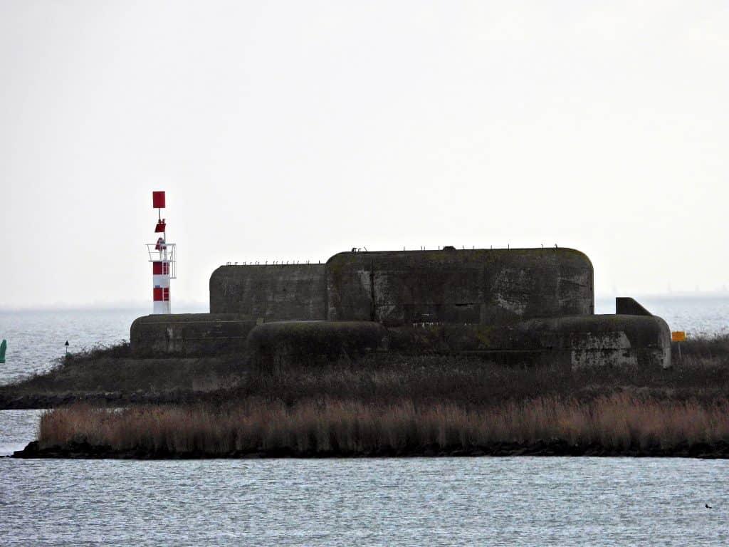 Kazematten Bunkers op de afsluitdijk