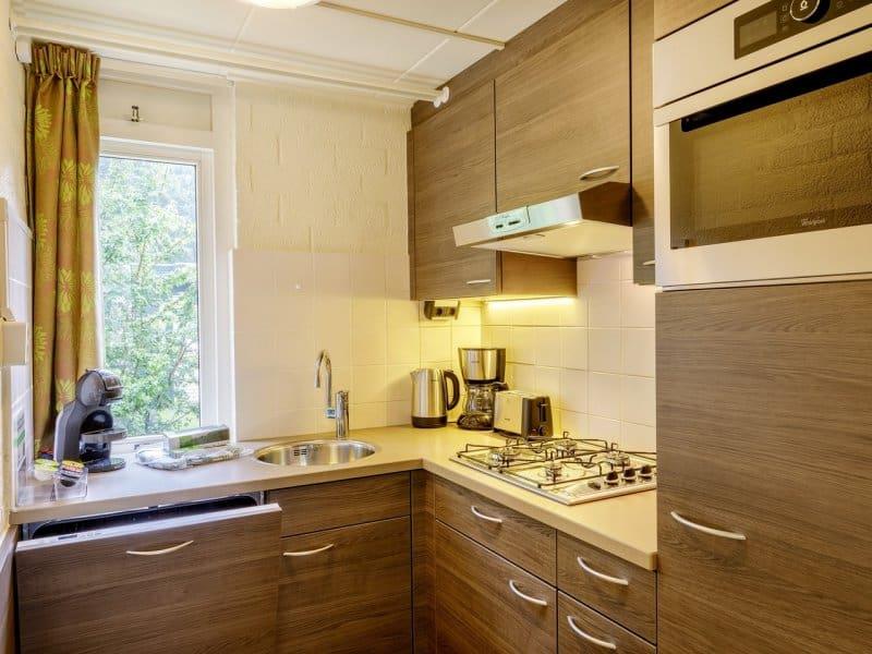 Keuken van Cottage in Center Parcs de Limburgse Peel