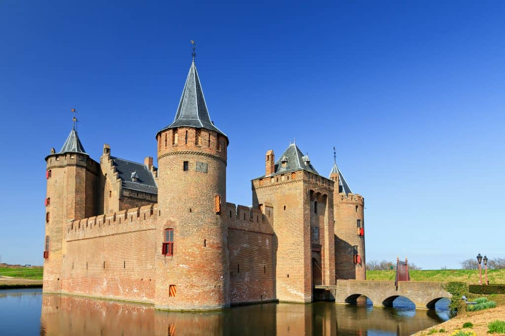 Muiderslot in Noord-Holland