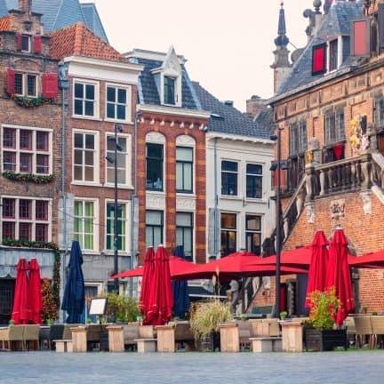 Oude centrum van Nijmegen